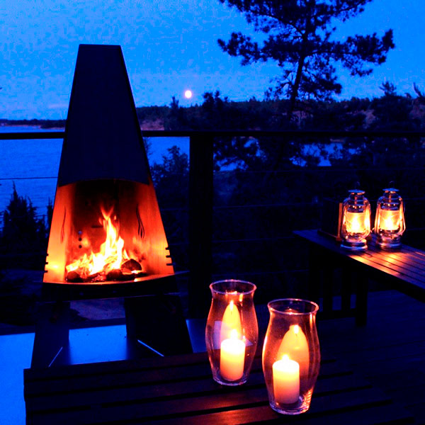 Aduro Outdoor Fire place