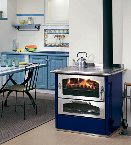 De Manicor Domino 8 Wood And Gas Cooker Stoves Woodburning Stove UK