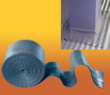 Roof flashings waterproof roof flashing types of roof for Flexible roofing material