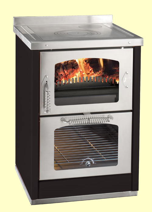 Domino 6 maxi wood cooker stove