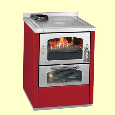 Domino 6 wood cooker stove