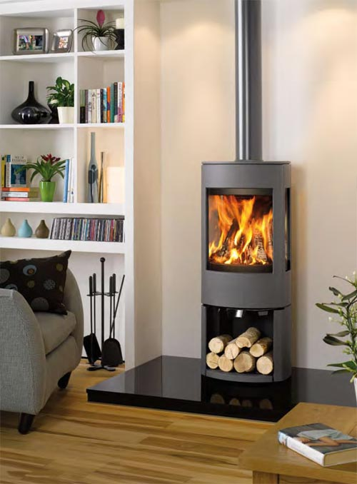 Dovre contemporary stoves uk for Modern wood burning insert
