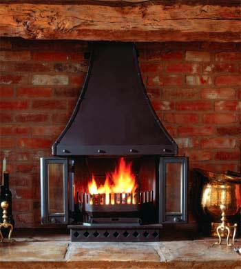 Dovre 2000 series multifuel wood burning stove - Dovre stoves UK