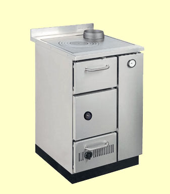 FK600 wood cooker boiler stove