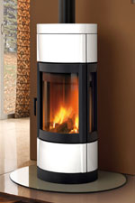 la nordica contemporary wood stoves uk