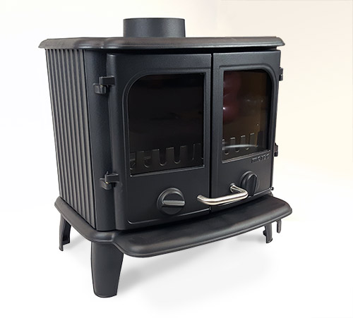 Panther 2110 cleanheat cast iron multifuel stove