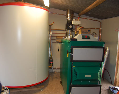Orlan Super 80kW log gasification boiler