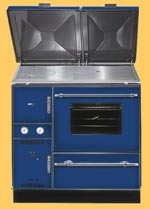 Wamsler range cooker stoves, wamsler central heating cooker stove
