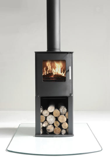Westfire series one pedestal multifuel stove uk