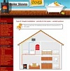 central heating wood boiler stoves