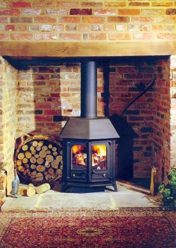 Charnwood country 12 stove, charnwood woodburning stoves uk