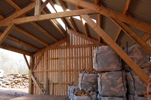 coombe farm firewood barn uk