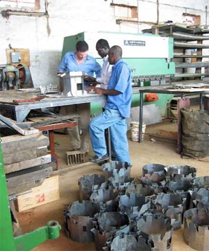 Darfur stoves are made in Sudan