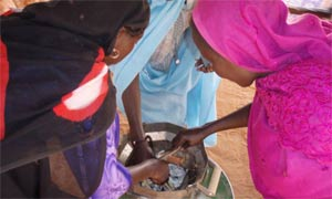 Darfur stove testing