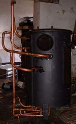 stovesonline experimental wood gas stove plumbing