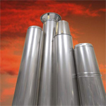 Double skin flues, single skin flues
