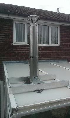 Combi Boiler Using A Wood Burner With A Combi Boiler