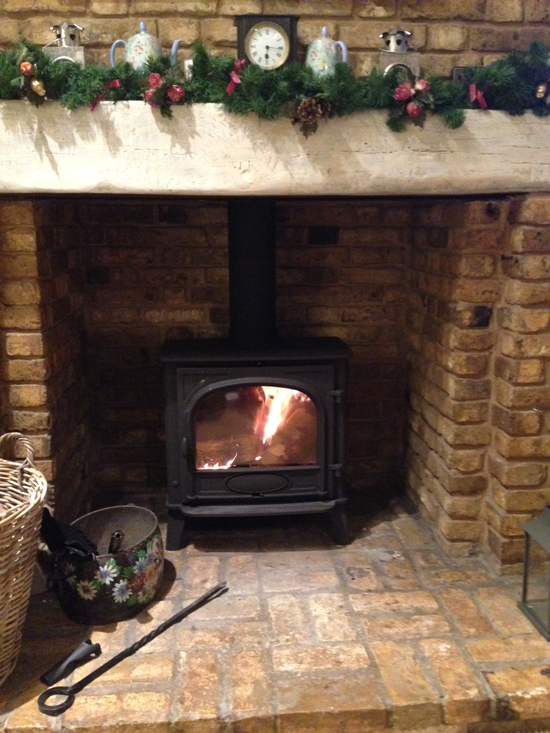 Stovax Stockton 8 multifuel stove customer installation