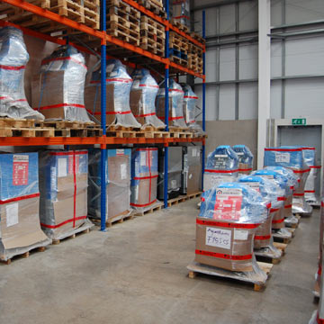 boilers stoves held in stock in one of our warehouses