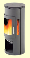 Westfire Contemporary Wood burning stove
