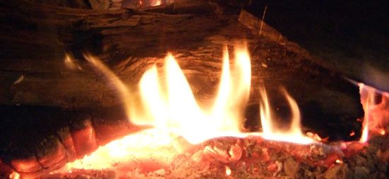 burning wood on a woodburning stove is better than burning coal